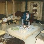Amersfoort, vroeg middeleeuws,verhoogde haardplaats van balken, 2002