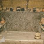 Archeon, ijzertijd of bronstijd interieur