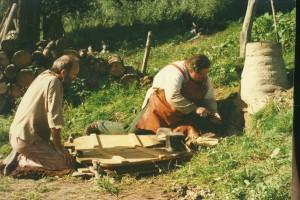 Gunters eerste oven met deur, 1987