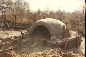 prehistorie, fase 4 bouw 1ste  broodoven