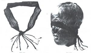 haarband met sprangtechniek