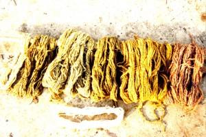 p. textiel, verven 4