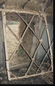 Archeon, bronstijd, lichte deurconstructie, 1992