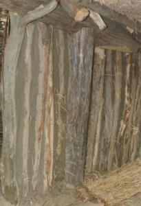 muur van palen, Greppelboerderij