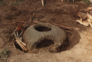 4,  bouw kook oven