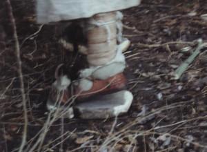 P, LE, schoeisel, kleppers tegen optrekkend vocht 001