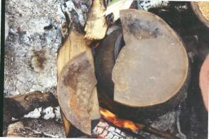 P, voeding, koken in potten met deksel