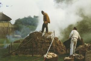 36, bouw houtskoolberg 230