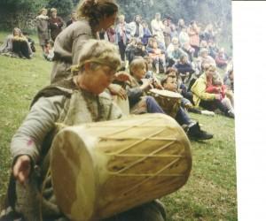 prehistorie, grote trom