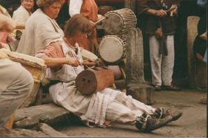 prehistorie muziek, klankhout